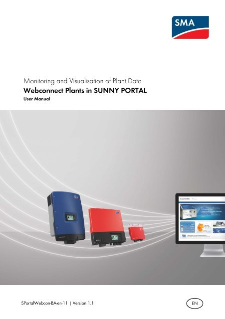 Monitoring and Visualisation of Plant Data     - Sunny Portal