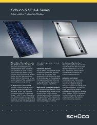 Schuco 180 - Adobe Solar