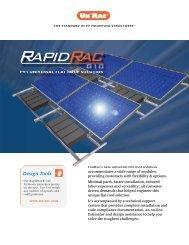 UniRac Rapid Rac Ballasted Mount - Adobe Solar