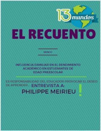 """Revista """"El recuento de 13 mundos"""""""