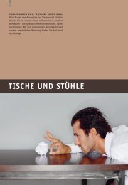 TISCHE UND STÜHLE - Möbel Furrer
