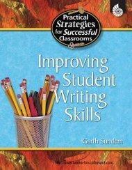 Improving Student Writing Skills - cse crafts
