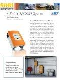 Datenblatt Sunny - Backup - SODI-Photovoltaiksysteme - Seite 2