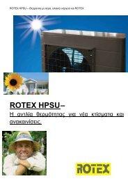 ROTEX HPSU– - SynPower