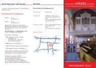PROGRAMM 2010 - Walcker-Orgel-Neuhausen-Filder