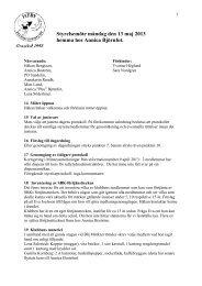 Styrelsemöte måndag den 13 maj 2013 hemma hos ... - Heby BK