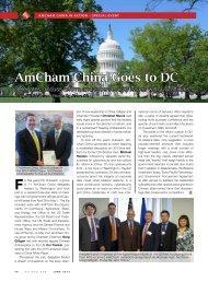 AmCham China Goes to DC
