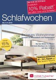 Katalog als PDF herunterladen - Möbel Hubacher