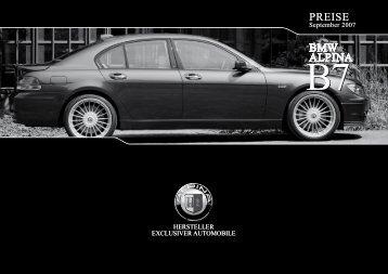 BMW Alpina B7 - mobilverzeichnis.de