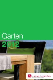 Garten - Möbel Hubacher