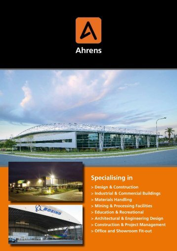 Specialising in - Ahrens