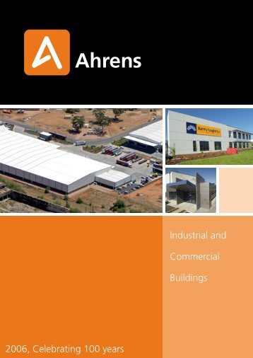 Industrial and Commercial Buildings 2006, Celebrating 100 ... - Ahrens
