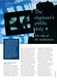 The engineer's public duty - Structural-Safety CMS Login Page