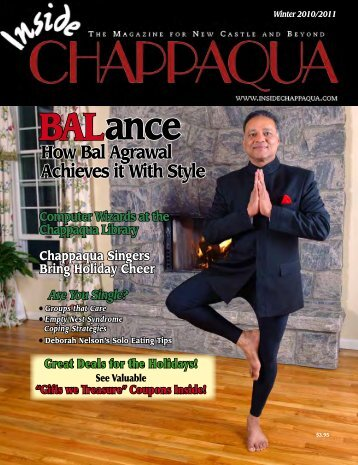 Download the December 2010 issue (PDF) - Inside Chappaqua