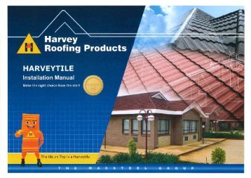 Harveytile Installation Manual - Macsteel