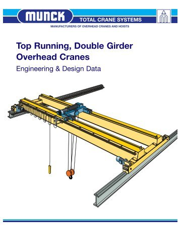 Top Running, Double Girder Overhead Cranes - Total Crane