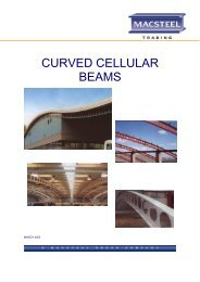 Curved Cellular Beam Brochure - Macsteel
