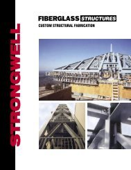 fibreglass structure