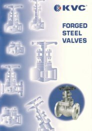 bellow sealed valves - Federal International (2000) Ltd