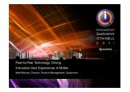 Driving Innovative User Experiences in Mobile - Qualcomm ...