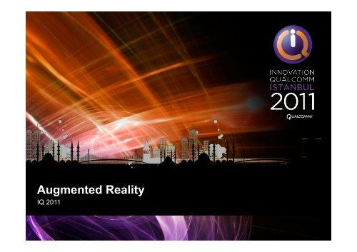Augmented Reality - Qualcomm Developer Network