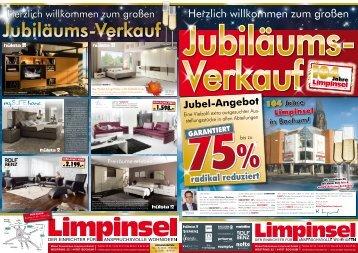 Jubiläums-Preis - Möbel Limpinsel