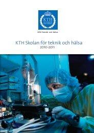 Verksamhetsberättelse 2010-2011 (pdf 30,7 MB) - KTH
