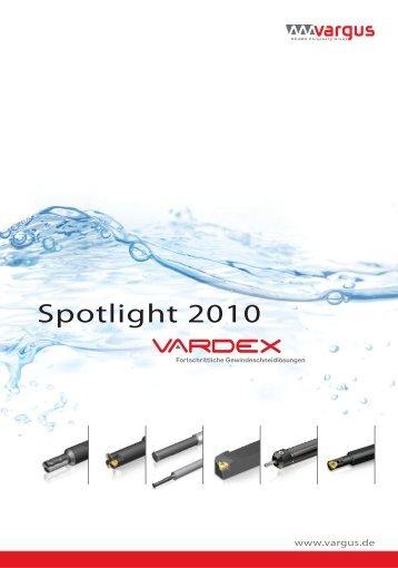 VARGUS Spotlight 2009-10 [German].indd