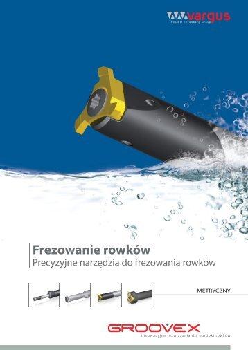 Mini-V frezowanie rowków - Vargus