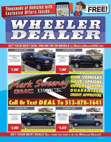 Wheeler Dealer 24-2015