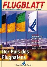 Ausgabe 2/01 - Flughafen Stuttgart