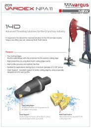 Advanced Threading Solutions for the Oil and Gas Industry