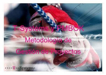 T-Systems y PMBOK