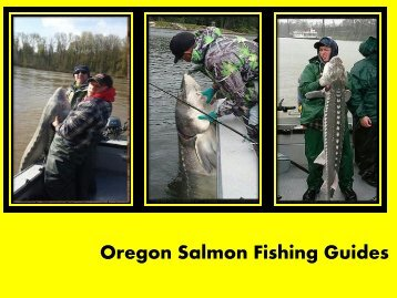 Oregon Sturgeon Fishing Guides