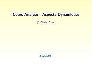 Modélisation dynamique des systèmes d'information - Polytech'Lille ...