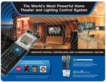 The World's Most Powerful Home Theater and Lighting Control System