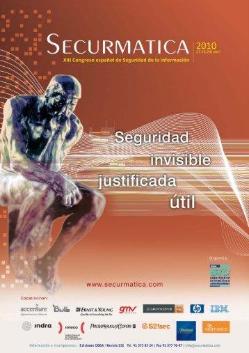 Programa en pdf de Securmática - Criptored - Universidad ...