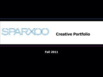 Branding Proposal to Creative Portfolio - Sparxoo