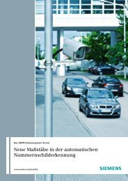 Vorzüge, die ganz neue Maßstäbe setzen - Siemens Mobility