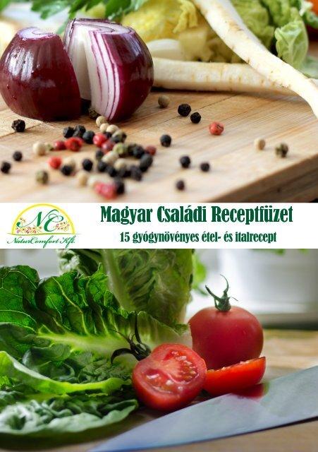 Magyar Családi Receptfüzet
