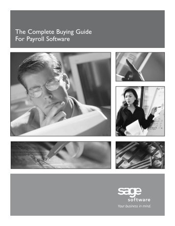 The Complete Buying Guide For Payroll Software - Dresser ...