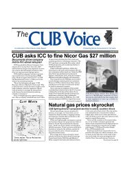 Spring 2003 - Citizens Utility Board