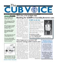 Summer 2012 - Citizens Utility Board