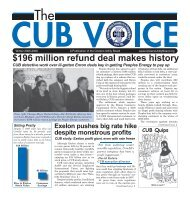 the current edition - Citizens Utility Board