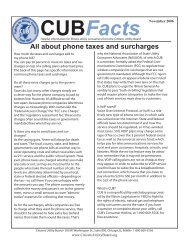 Taxes and Surcharges.indd - Citizens Utility Board