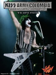 Kiss Army Colombia Magazine - #2