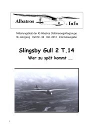 Slingsby Gull 2 T.14 - IG Albatros