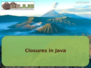 Closures in Java