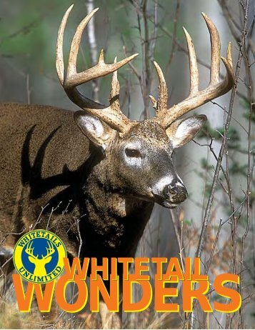 WHITETAIL WONDERS BOOKLET.PMD - Whitetails Unlimited