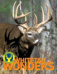 Whitetail Wonders - Whitetails Unlimited